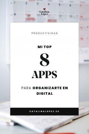 Top 8 apps gratuitas para organizar tu trabajo en el mundo digital